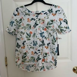 Saks Fifth Ave Floral Blouse